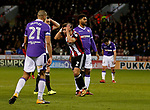 George Baldock of Sheffield Utd holds his head after a chance goes begging during the Championship match at Bramall Lane Stadium, Sheffield. Picture date 30th December 2017. Picture credit should read: Simon Bellis/Sportimage