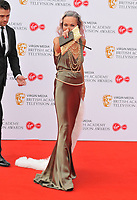 Amanda Mealing at the British Academy (BAFTA) Television Awards 2019, Royal Festival Hall, Southbank Centre, Belvedere Road, London, England, UK, on Sunday 12th May 2019.<br /> CAP/CAN<br /> &copy;CAN/Capital Pictures