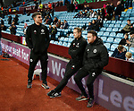 Luke Smith Paul Watson and Mike Allen of Sheffield Utd during the Championship match at Villa Park Stadium, Birmingham. Picture date 23rd December 2017. Picture credit should read: Simon Bellis/Sportimage