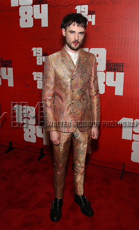 Tom Sturridge attends the Broadway Opening Night Party for George Orwell's '1984' at The Lighthouse Pier 61 on June 22, 2017 in New York City.