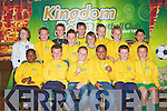 KINGDOM BOYS: The Kingdom Boys U9's team enjoying their awards day at the Brandon Hotel on Saturday.
