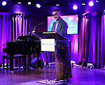 Ed Sylvanus Iskandar during the SDC Foundation Awards on October 30, 2017 at The Green Room 42 in New York City.