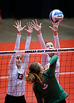 2019 South Dakota State Volleyball Championships Sioux Falls Christian vs. Miller