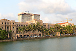 Hilton hotel and government office on waterfront, Colombo, Sri Lanka