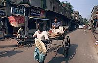 Indien, Kalkutta (Kolkata), Rikscha