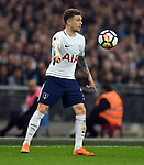 Kieran Trippier of Tottenham Hotspur during the premier league match at the Wembley Stadium, London. Picture date 14th April 2018. Picture credit should read: Robin Parker/Sportimage