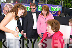 Jessie Buckley meets her fan Josephine Ryan at her homecoming Friday evening   Copyright Kerry's Eye 2008