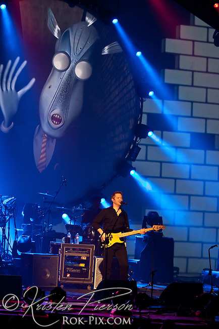 Brit Floyd P-U-L-S-E tour performs at Veterans Memorial Auditorium in Providence, Rhode Island April 7, 2013