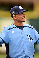 Charlotte Stone Crabs shortstop Willy Adames (2) before a game against the Bradenton Marauders on April 20, 2015 at McKechnie Field in Bradenton, Florida.  Charlotte defeated Bradenton 6-2.  (Mike Janes/Four Seam Images)