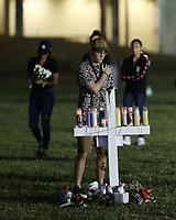 Florida Town Of Parkland Holds Vigil