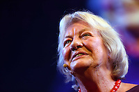 Monday 26 May 2014, Hay on Wye, UK<br /> Pictured: Lynn Barber.<br /> Re: The Hay Festival, Hay on Wye, Powys, Wales UK.