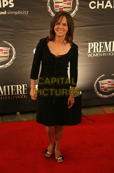 SALLY FIELD.The 13th Annual Premiere Women in Hollywood - Arrivals held at the Beverly Hills Hotel, Beverly Hills, California, USA, 20 September 2006..full length black dress.Ref: ADM/ZL.www.capitalpictures.com.sales@capitalpictures.com.©Zach Lipp/AdMedia/Capital Pictures.