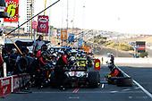 Carlos Munoz, Schmidt Peterson Motorsports Honda, pit stop