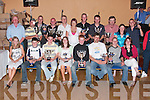 TROPHIES: Members of the Kingdom Hod Rod Club who were presented with trophies at a function in The Listowel Arms Hotel on Sunday night. Front from left: Aoife Greaney, Broadford, Stephen Relihan, Brosna, Nigel Brouder, Athea, Niamh Greaney, Broadford, Jerry Hannon, Lyreacrompane, Mike Relihan, Brosna, Liam Griffin, Cordal, and Rachel Stamp, Abbeyfeale. Back from left, Con Greaney, Broadford, Des Brouder, Athea, Mike McElligott, Abbeyfeale, Mike Murphy, Abbeyfeale, Tim Lynch, Listowel, Emma Stack, Abbeyfeale, Dennis Griffin, Cordal, Noel McNamara, Templeglantine, Fergus Griffin, Cordal, Samantha and John McElligott, Listowel, .