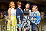 Delores Guiry (Manor), Joan O'Connell (Ballydesmond), Chloe Guiry (Manor) and Katie Woulfe (Bruff) attending the Daily Diva and Stuart's Select Style Autumn/Winter Fashion Fix  show in aid of Recovery Haven Kerry in the Ballygarry House Hotel on Saturday night.