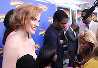 Jessica Chastain at the NY premiere of Madagascar 3: Europe's Most Wanted at the Ziegfeld Theatre in New York City. June 7, 2012. © RW/MediaPunch Inc. NORTEPHOTO.COM