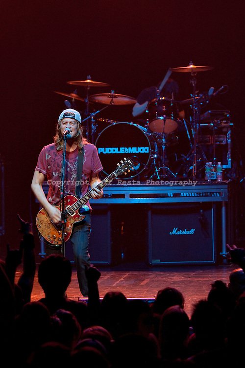 Puddle of Mudd live in concert at Nokia Theatre on October 23, 2009 in Grand Prairie, TX.