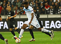 Wallace (Lazio Rom) - 04.10.2018: Eintracht Frankfurt vs. Lazio Rom, UEFA Europa League 2. Spieltag, Commerzbank Arena, DISCLAIMER: DFL regulations prohibit any use of photographs as image sequences and/or quasi-video.