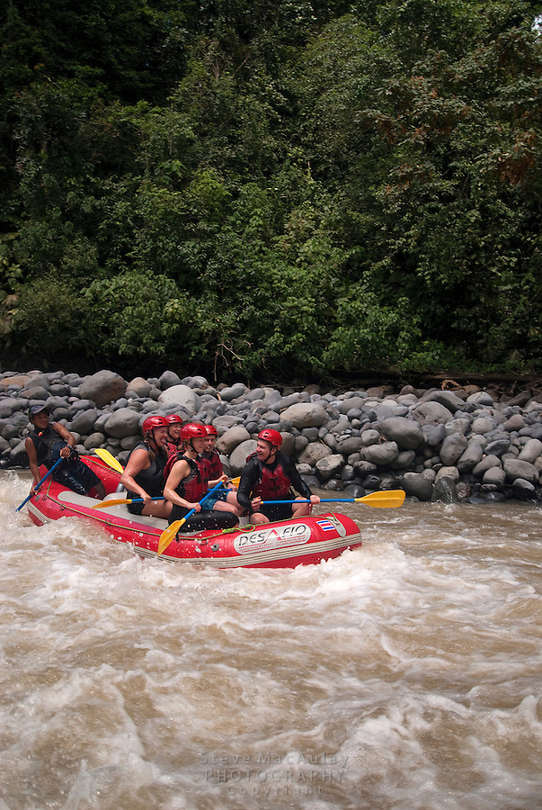 River rafting on the Rio Toro, Costa Rica