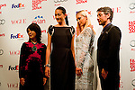 September 6, 2012 : Tokyo, Japan - Mitsuko Watanabe, Ai Tominaga, Anna Tsuchiya, and Chris Peppler appear at the press conference for ''FASHION'S NIGHT OUT'' by VOGUE JAPAN, Tokyo, Japan. VOGUE JAPAN's Mitsuko Watanabe announced the fashion event in Osaka area. It will be called ''FASHION'S NIGHT OUT 2012 OSAKA in Umeda Hankyu. (Photo by Yumeto Yamazaki/AFLO).