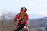 Antonio Nibali (ITA) Bahrain-Merida on sector 8 Monte Santa Maria during Strade Bianche 2019 running 184km from Siena to Siena, held over the white gravel roads of Tuscany, Italy. 9th March 2019.<br /> Picture: Eoin Clarke | Cyclefile<br /> <br /> <br /> All photos usage must carry mandatory copyright credit (© Cyclefile | Eoin Clarke)