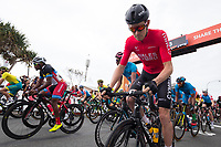 Picture by Alex Whitehead/SWpix.com - 14/04/2018 - Commonwealth Games - Cycling Road - Currumbin Beachfront, Gold Coast, Australia - Men's Road Race, Luke Rowe of Wales.