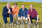GOLF CLASSIC; Taking part in the St Vincent de Paul Annual Golf Classic fundraiser at Tralee Golf Club on Saturday l-r: Terry Egan, Eddie Enright, Ewen O'Donnell and Martin Mitchell.