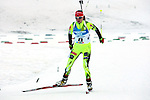 SVK Natalia Prekopova competes during the 20 km Individual Biathlon race as part of the Winter Universiade Trentino 2013 on 13/12/2013 in Lago Di Tesero, Italy.<br /> <br /> &copy; Pierre Teyssot - www.pierreteyssot.com