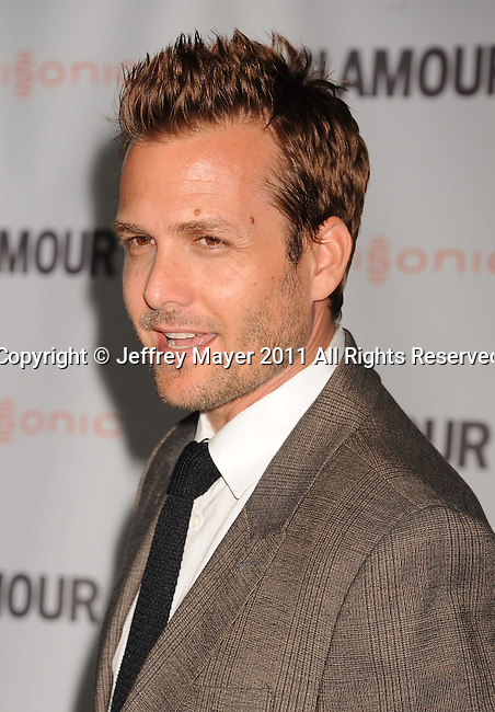 LOS ANGELES, CA - OCTOBER 24: Gabriel Macht attends the Glamour Reel Moments at DGA Theater on October 24, 2011 in Los Angeles, California.