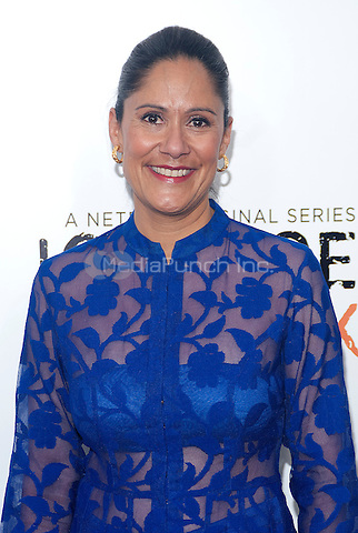 NEW YORK, NEW YORK - MAY 15, 2014:  Actress Sakina Jaffrey attends the Season 2 Premiere of 'Orange is the New Black' hosted by Netflix at The Ziegfeld Theater in New York, New York on Thursday May 15, 2014. Photo credit:RTNHargrove/MediaPunch