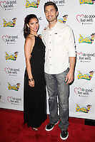 WESTWOOD, LOS ANGELES, CA, USA - JUNE 21: Roselyn Sanchez, Eric Winter at the Los Angeles Premiere Of 'La Golda' held at The Crest on June 21, 2014 in Westwood, Los Angeles, California, United States. (Photo by Celebrity Monitor)