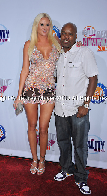 HOLLYWOOD, CA. - October 13: Megan Hauserman and Too Short arrives at the 2009 Fox Reality Channel Really Awards at the Music Box at the Fonda Theatre on October 13, 2009 in Hollywood, California.