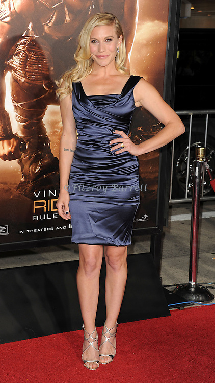 Katee Sackhoff at the RIDDICK World Premiere, held at the Regency Village Theater Los Angeles, Ca. August 28, 2013