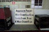 23/06/2000 Blackpool FC Bloomfield Road Ground..old west stand prices.....© Phill Heywood.