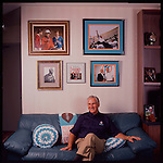 NFL Miami Dolphin coach Don Shula. Shot for South Florida Magazine.