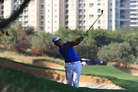 Daniel Im (USA) in action on the 4th during Round 1 of the Hero Indian Open at the DLF Golf and Country Club on Thursday 8th March 2018.<br /> Picture:  Thos Caffrey / www.golffile.ie<br /> <br /> All photo usage must carry mandatory copyright credit (&copy; Golffile | Thos Caffrey)