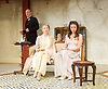 The Roundabout <br /> by JB Priestley <br /> directed by Hugh Ross<br /> at Park Theatre, London, Great Britain <br /> 24th August 2016 <br /> Press photocall <br /> <br /> <br /> Lisa Bowerman as Lady Kettlewell <br /> <br /> <br /> Bessie Carter as Pamela Kettlewell <br /> <br /> Derek Hutchinson as Parsons <br /> <br /> <br /> <br /> Photograph by Elliott Franks <br /> Image licensed to Elliott Franks Photography Services
