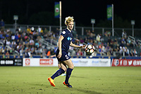Cary, NC - Saturday April 22, 2017: Samantha Mewis during a regular season National Women's Soccer League (NWSL) match between the North Carolina Courage and the Portland Thorns FC at Sahlen's Stadium at WakeMed Soccer Park.