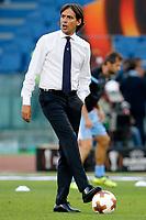 Simone Inzaghi Lazio <br /> Roma 28-09-2017 Stadio Olimpico Football Europa League 2017/2018 Group K Lazio - Zulte Waregem Foto Giampiero Sposito/Insidefoto