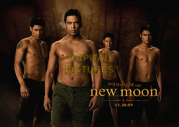 ALEX MERAZ, CHASKE SPENCER, BRONSON PELLETIER & KIOWA GORDON.in The Twilight Saga: New Moon .*Filmstill - Editorial Use Only*.CAP/FB.Supplied by Capital Pictures.