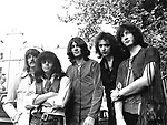 Deep Purple 1969 Jon Lord, Ian Paice, Ian Gillan, Ritchie Blackmore and Roger Glover..© Chris Walter.