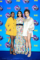 LOS ANGELES - AUG 13:  Ryan Destiny, Brittany O'Grady, Jude Demorest at the Teen Choice Awards 2017 at the Galen Center on August 13, 2017 in Los Angeles, CA