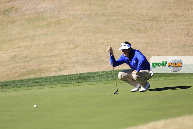 Gonzalo Fernandez-Castano (ESP) on the 1st green during Saturday's Round 3 of the 2017 CareerBuilder Challenge held at PGA West, La Quinta, Palm Springs, California, USA.<br /> 21st January 2017.<br /> Picture: Eoin Clarke   Golffile<br /> <br /> <br /> All photos usage must carry mandatory copyright credit (&copy; Golffile   Eoin Clarke)