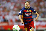 FC Barcelona's Jordi Alba during Spanish Kings Cup Final match. May 22,2016. (ALTERPHOTOS/Acero)