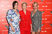 LONDON, UK. June 06, 2019: Jessie J, Emma Willis & Pixie Lott at The Voice Kids UK 2019 photocall, London.<br /> Picture: Steve Vas/Featureflash