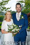 Sandra O'Donoghue and Kevin Prunty were married at Sacred Heart Lyreacrompane by Fr. Jack O'Donnell on 21st July 2017 with a reception at Ballygarry House Hotel