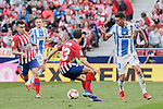 Atletico de Madrid's Andres Felipe Solano and CD Leganes's Mikel Vesga during La Liga match between Atletico de Madrid and CD Leganes at Wanda Metropolitano stadium in Madrid, Spain. March 09, 2019. (ALTERPHOTOS/A. Perez Meca)