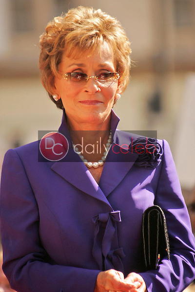 Judge Judy Sheindlin<br />at the Ceremony honoring her with a star on the Hollywood Walk of Fame. Hollywood Boulevard, Hollywood, CA. 02-14-06