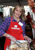 Los Angeles, CA - NOVEMBER 23: Deidre Hall, At Los Angeles Mission Thanksgiving Meal For The Homeless At Los Angeles Mission, California on November 23, 2016. Credit: Faye Sadou/MediaPunch