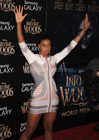 New York,NY-December 8: Condola Rashad attends the 'Into The Woods' world premiere at the Ziegfeld Theater on December 8, 2014. Credit: John Palmer/MediaPunch